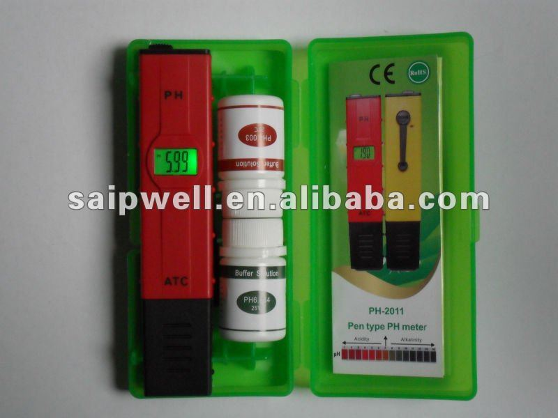High quality mini Digital Pen Type PH Meter PH-2011