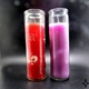 Alibaba business shopping colored candle jars glass