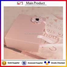 2016 Customized Matt lamination color printed recycle popular foldable paper box