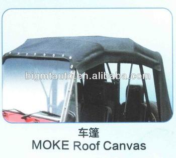 Brand New Mini Moke Car Canvas View Moke Shell Moke