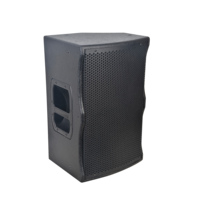 RQSONIC WF15ADDSP-BT-600W 15'' high power pro active with DSP processor wooden box subwoofer outdoor stage speaker sound system