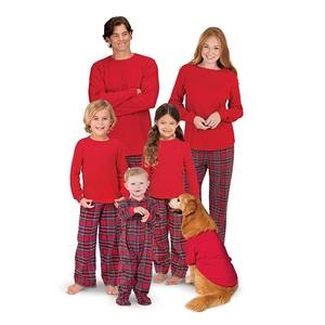 22ffa17825 Plaid Flannel Matching Family Pajamas