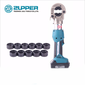 ZUPPER EZ-300B Hydraulic Battery Cable Lug Crimping Tools Battery Powered 16-300mm Copper Press Tool
