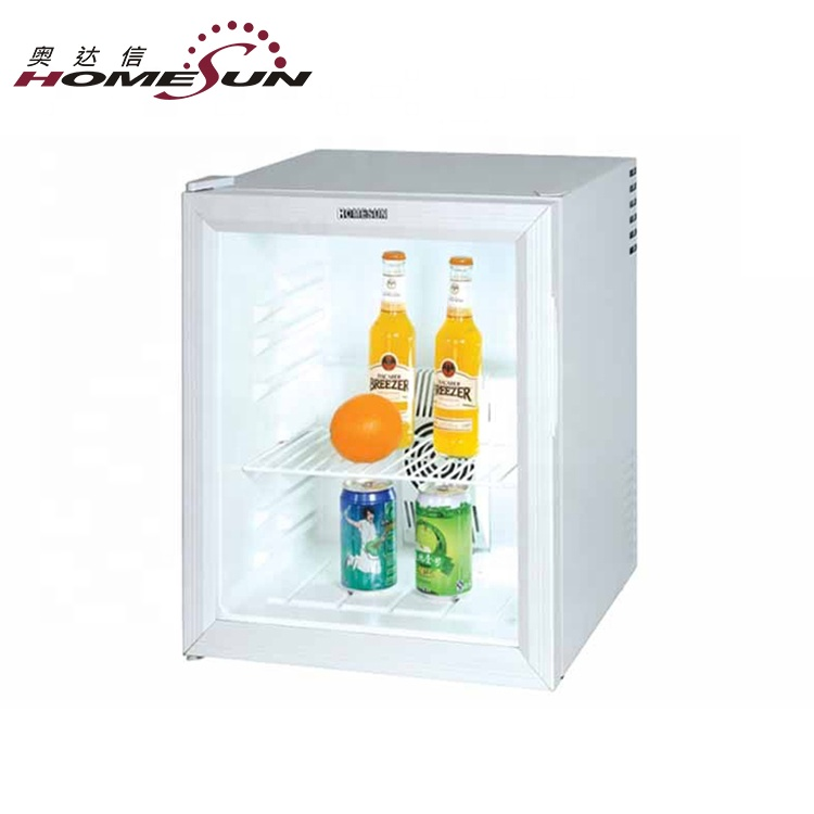 Custom 48L Hotel Mini Bar Drinks Food Frigorifero, Mini Frigorifero Per Bevande Fresche