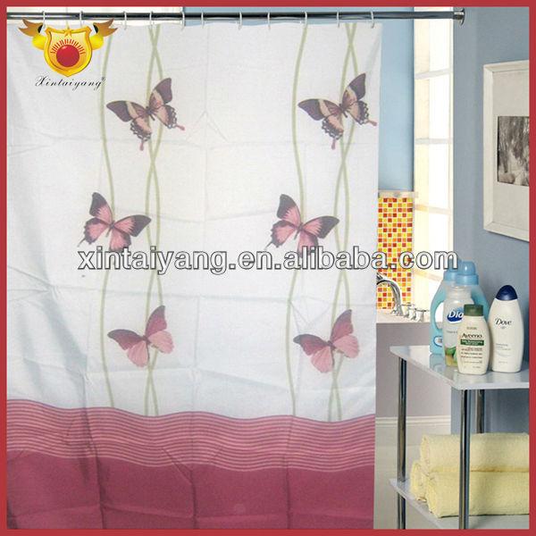 schmetterling design bedruckter polyester fertige dusche vorh nge bad t rvorhang ikea gardine. Black Bedroom Furniture Sets. Home Design Ideas