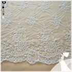 Transparent organza embroidery lace rose lace embroidery designs white lace wedding saree