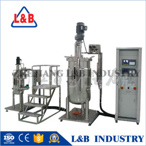Industrial Steel Lactic Acid Fermentation with SUS Electric Control box