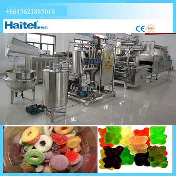 Commerical Gelatin Pectin Small Jelly Gummy Candy Making Machine - Buy  Jelly Making Machine,Fruit Jelly Making Machine,Frut Jelly Making Mini  Machine