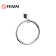 Factory Supplier Zinc+Brass Chrome Bathroom Sanitary Items Wall Mounted Towel Ring