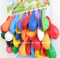 144pcs balloons different sizes latex balloon card packing balloons