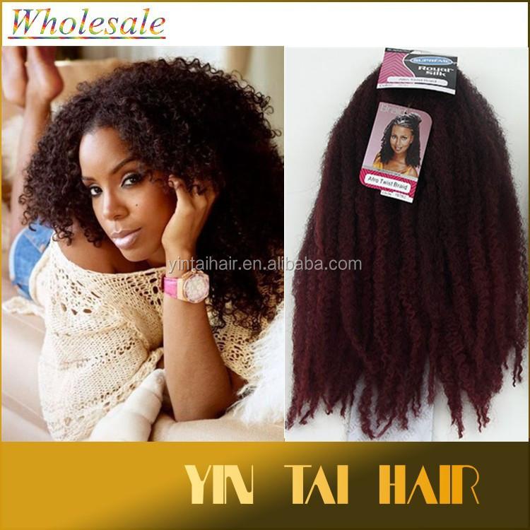 Supreme Royal Silk Afro Twist Braid Hair 100% Synthetic Hair