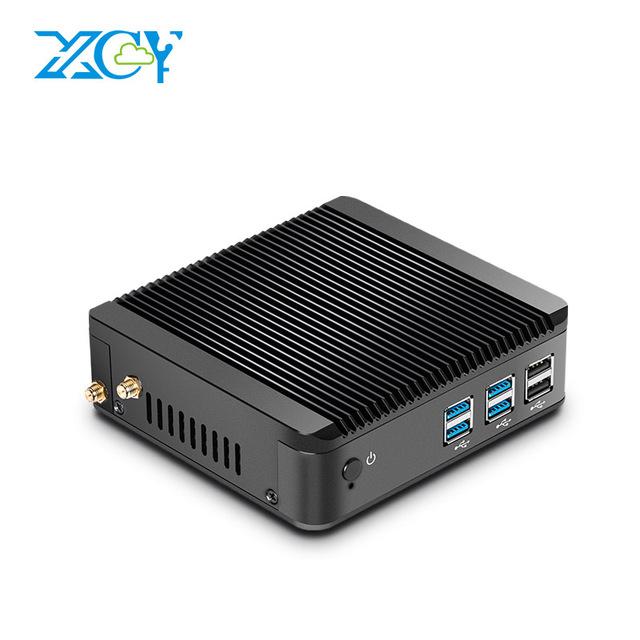 XCY Mini pc core i3 4010Y 4g ram 32g ssd with 300M WIFI fanless desktop computer фото