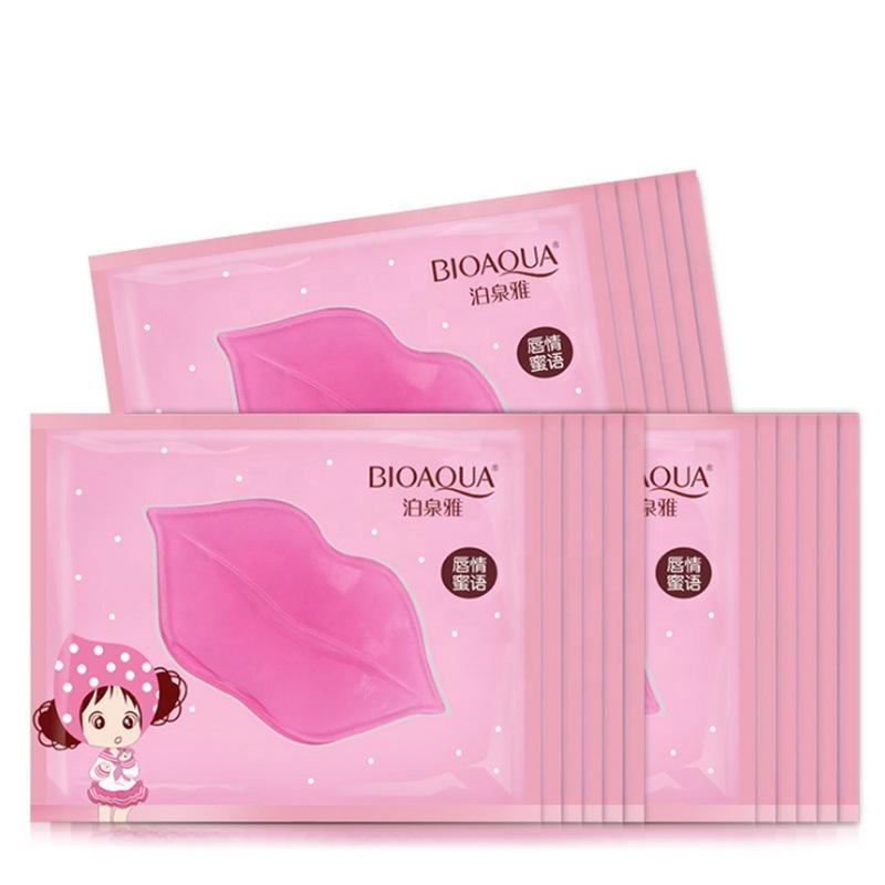 Bioaqua Hydrating Moisturizing Nourishing Sleeping Lip Mask Charming Collagen Crystal Lip Mask Repair Dry Lip Cosmetics
