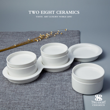 White Ceramic Divided Plate White Ceramic Divided Plate Suppliers and Manufacturers at Alibaba.com & White Ceramic Divided Plate White Ceramic Divided Plate Suppliers ...