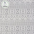 China manufactory luxury polyester african embroidery lace fabric