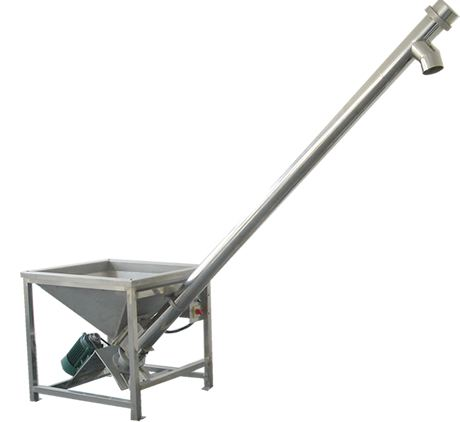 Stainless Steel Flexible Small Screw Auger Conveyor For Milk Powder