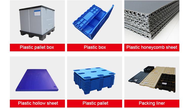 Faltbare paletten container, kunststoff box palette, faltbare palette bin für fracht lagerung ausrüstung