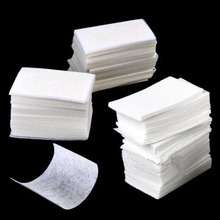 high quality 400pcs/set Nail Art wipe Manicure Polish gel nail Wipes Cotton Lint Cotton Pads Paper Acrylic Gel Tips