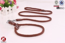 Hand-Made Pet Products Nylon Led Dog Leash and Collar with Double D Ring