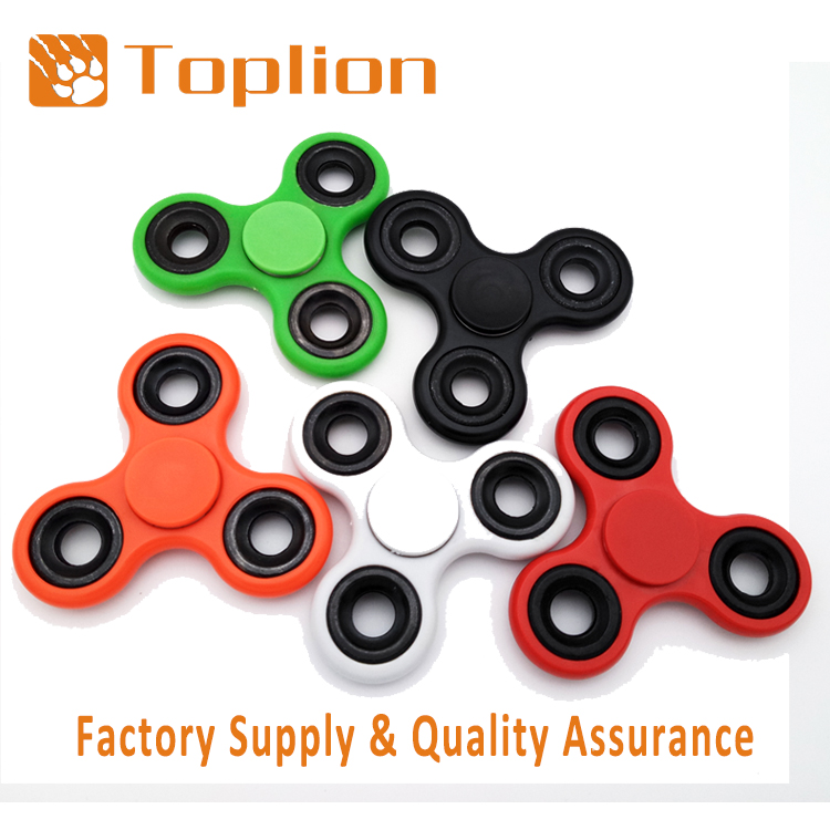 Hot selling fiddle toy fidget spinner with metal Ball bearing Focus