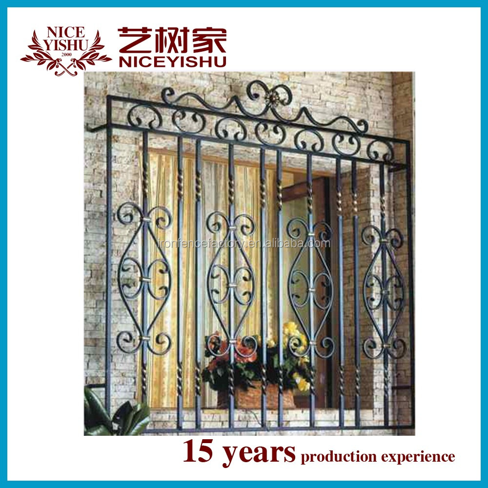 Wrought iron window grill decorative home iron window wrought iron window grill decorative home iron window suppliers and manufacturers at alibaba com