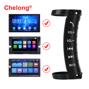 Universal Car MP5 wireless Car steering wheel remote Control Button Answer calls Put music