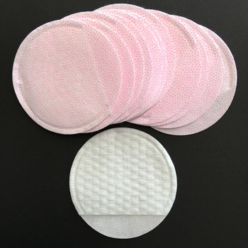 Non woven Fabric Soft cotton applicator pads with container for salon, spa
