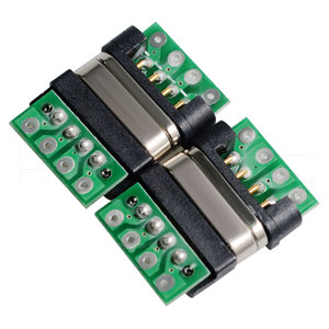 5v 2a adapter board magnetic push button wire connectors
