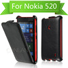 2014 Unique business style thermoforming flip mobile covers for nokia lumia 520