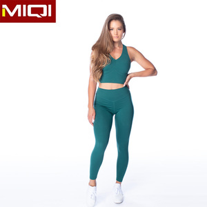 Wholesale High Quality Workout Women Yoga Set Custom Private Label Fitness Ladies Girls Sport Gym Wear