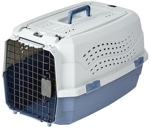 Fashion Design Luxury Travel Pet Air Carrier Dog /Cat Transport Plastic Cages Wholesale