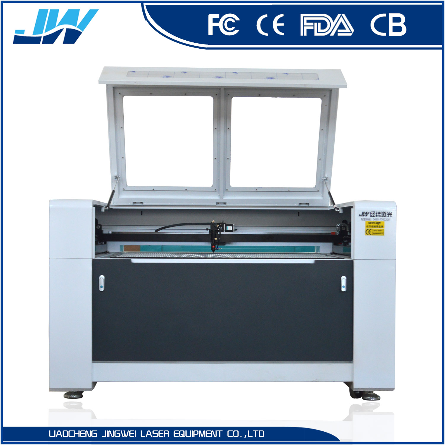 80w 100w 150w 180w 1390 Co2 Laser Cutting machine and laser Engraving Machine For Fabric / Garment / Textile