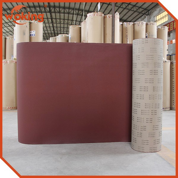 Wide Application Aluminum Oxide Abrasive Cloth WX713-1