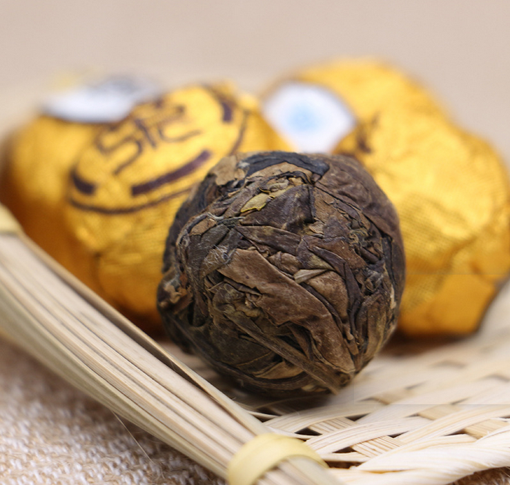 Fuding aged White Tea Shoumei Tea Dragon Pearl tea with different packaging - 4uTea   4uTea.com