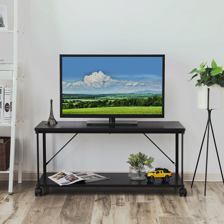 New Model Simple Modern Living Room Wooden Furniture Lcd Tv Stand Cabinet  With Showcase - Buy Tv Stand,Wooden Tv Stand Pictures,Tv Stand Furniture ...