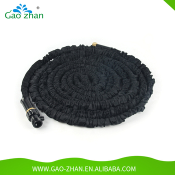 Black Garden Hose Pipe/magic Garden Hose/retractable Garden Hose With Free  Samples