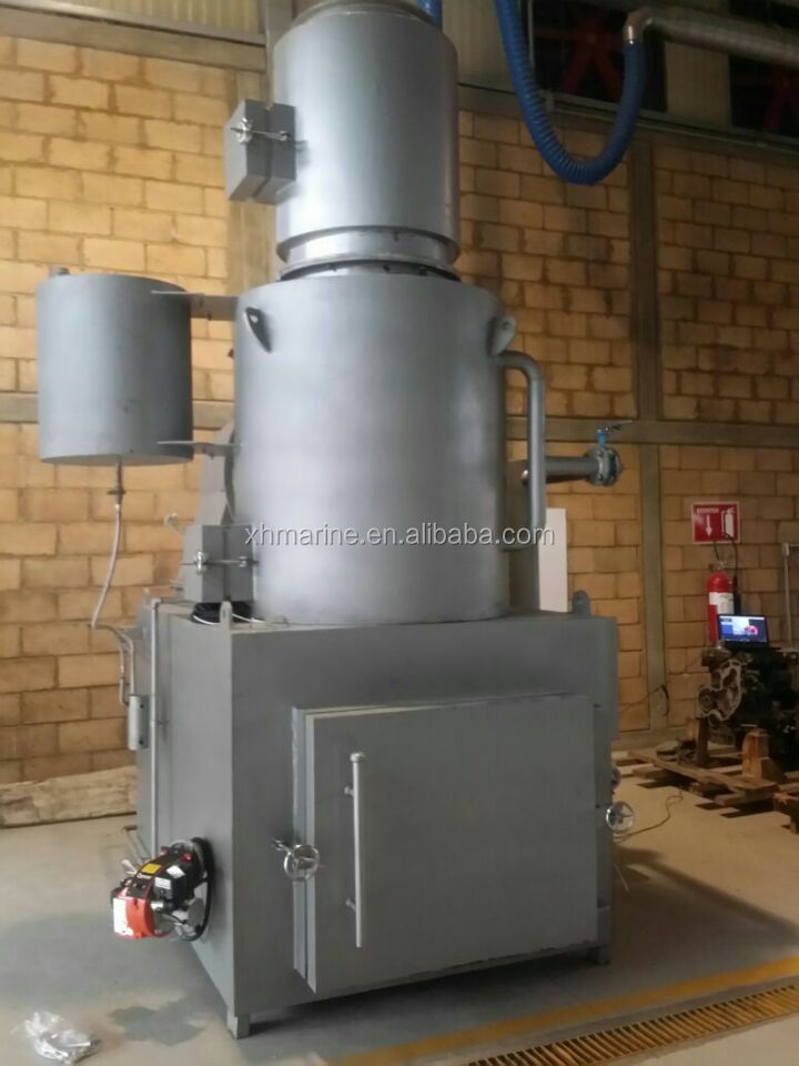 Portable medical waste incinerator for hospital garbage treatment