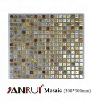 Best price tiles, Gloden Glass Mosaic for Swimming Pool Design