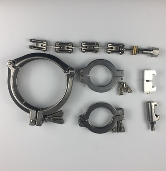 Vacuum stainless steel hinge clamp chain clamp