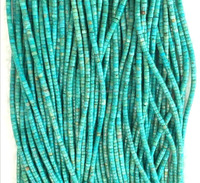 3mm 4mm 5mm 6mm 100% natural Stock Turquoise Heishi beads