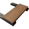 High Quality anti-UV Wood Plastic Composite Decking Co-extrusion Wpc Decking 138x23mmmm
