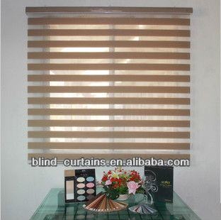 Indian style shear zebra blind/curtain