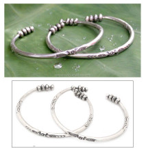 beautiful metal bracelet beads