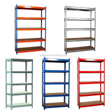 cheaf slotted angle shelving light duty rack warehouse storage shelf