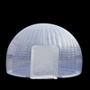 Custom design outdoor large clear bubble lodge inflatable tent