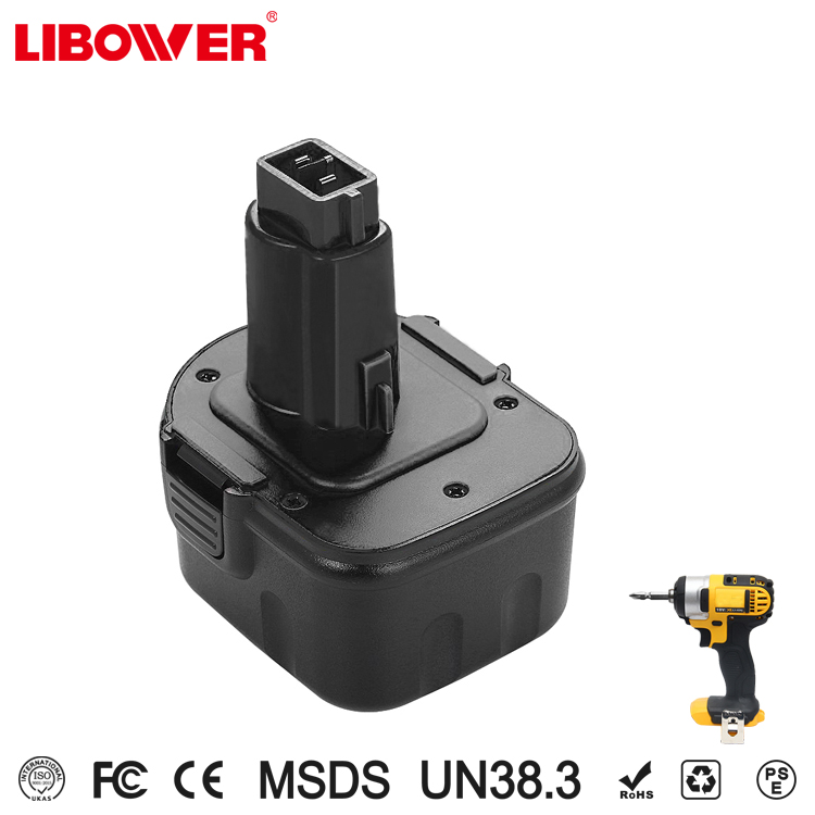 For dewalt 12V 2000mAh Ni-MH Rechargeable Battery lipower Power Tools Bateria for Mak Drill 52250-27, DC9071,DE9037, DE9071,DW90