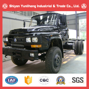 Dongfeng Brand New 4x4 Lorry Chassis Price/Long Nose Cargo Truck Chassis For Sale