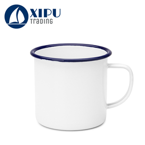 Factory wholesale blank sublimation enamel cup