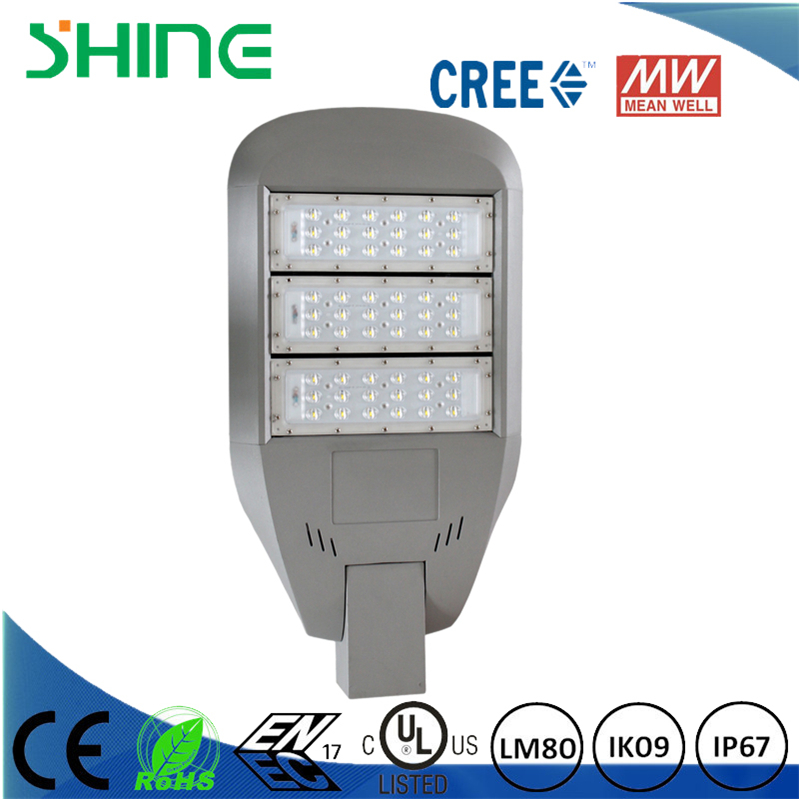 high power 0-180 degree installation adjustable led street light outdoor
