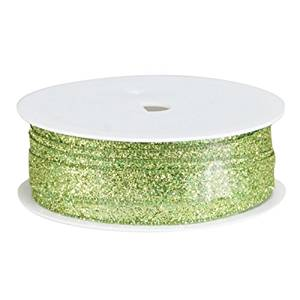 """The Gift Wrap Company Razzle Dazzle Banding Ribbon, 3/8"""", Limelite, Lime Green"""